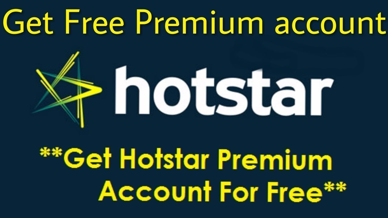 Hotstar Premium Account Username and Password