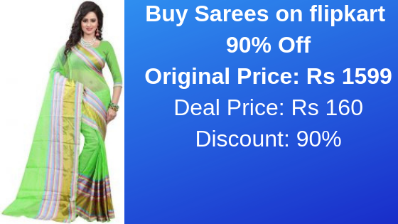Buy Sarees on flipkart