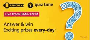 Amazon Quiz Answers 16 June