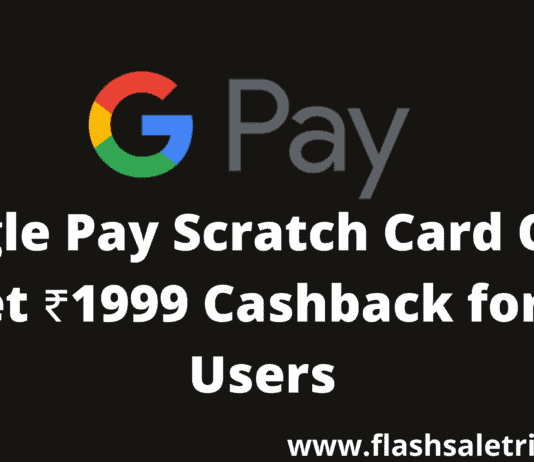 Google Pay Scratch Card Offer